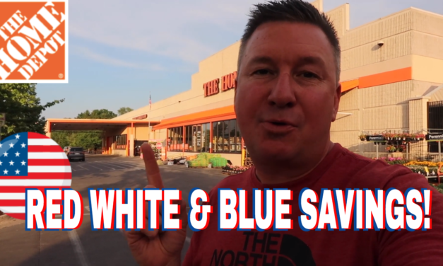 Red, White, and Blue Savings at Home Depot